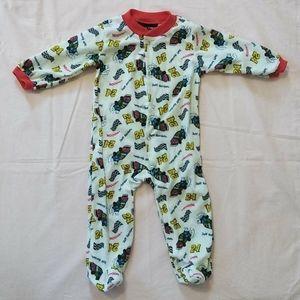Nascar Baby Pajamas Size 12 Months